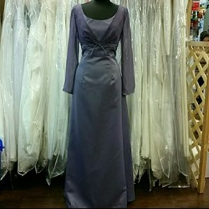 ☇FLASH SALE☇Dark Lavender Simple Gown